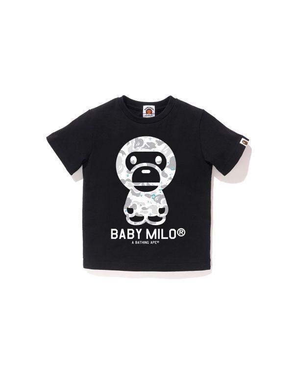 Space Camo Baby Milo tee