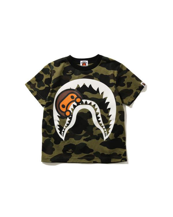 1st Camo Milo Shark tee