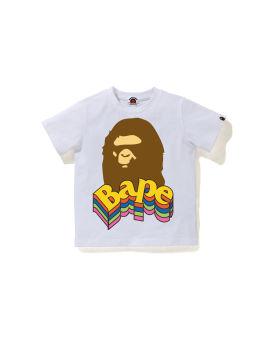 Multi Color Bape Ape Head tee