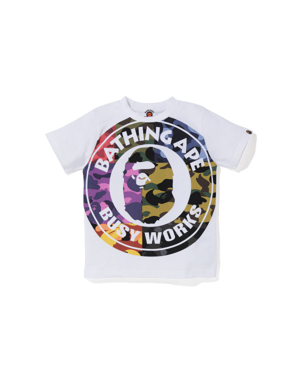 Mix Camo Busy Works tee