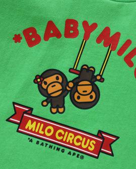 Baby Milo Circus Trapeze tee