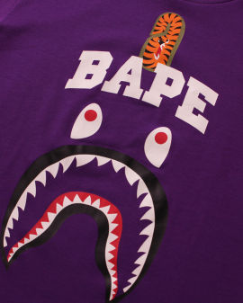 Bape Shark Print tee