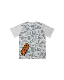 Space Camo Multi Shark Pocket tee