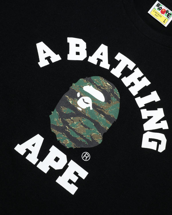 Tiger Camo College tee