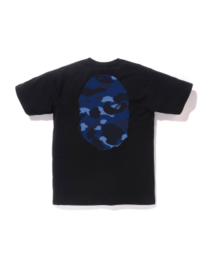 Color Camo Big Ape Head tee