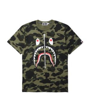 1st Camo Shark tee