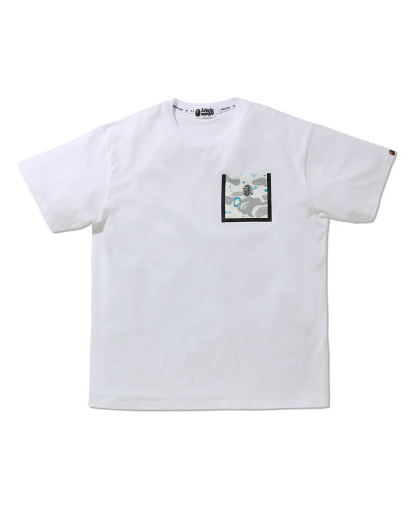 Relaxed Space Camo Pocket tee