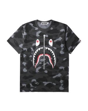 Color Camo Shark tee