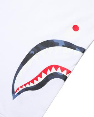 Colour Camo Side Shark tee