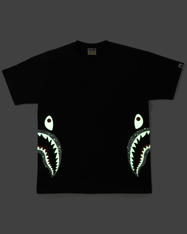 Space Camo Side Shark tee