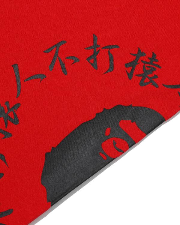 Bicolour Side Kanji logo tee