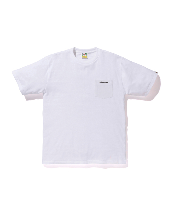 A BATHING APE Patch pocket tee