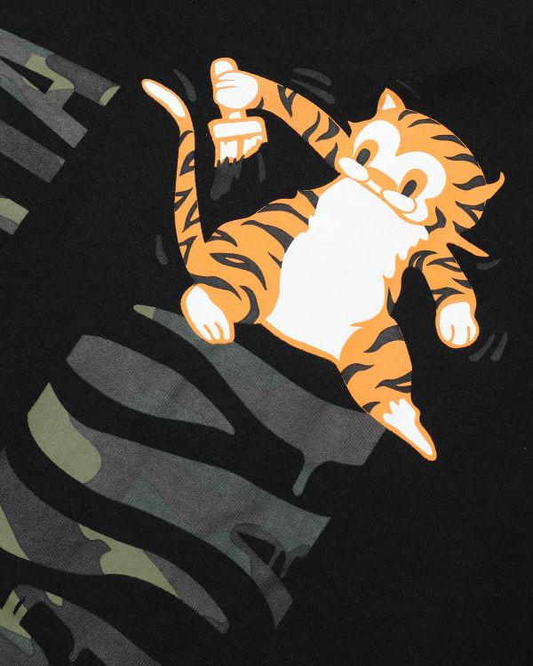 Woodland Camo Tiger tee