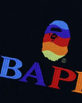 Bape Logo Embroidery Tee