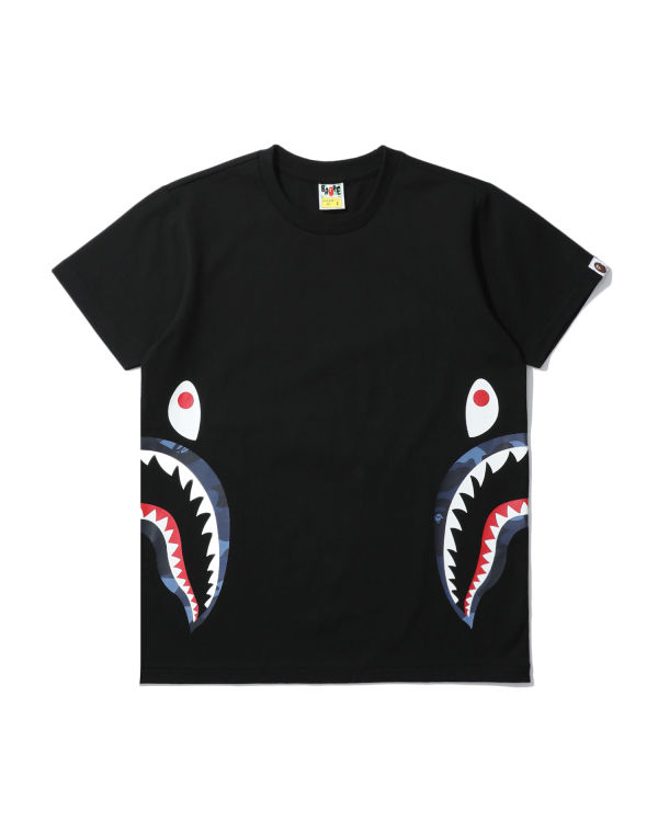 Colour Camo side Shark tee