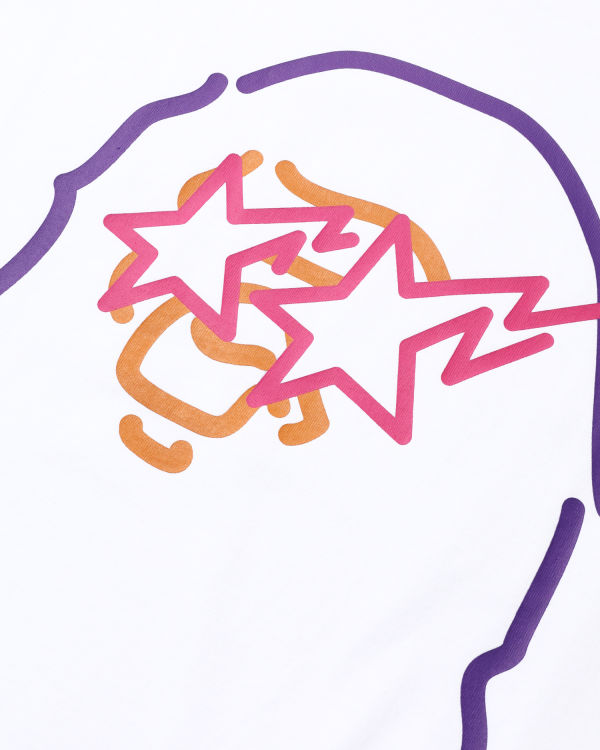 Neon Sign Ape Head tee