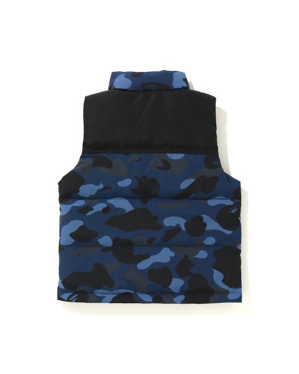 Color Camo quilted vest
