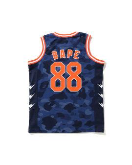 Color Camo Bape Basketball vest