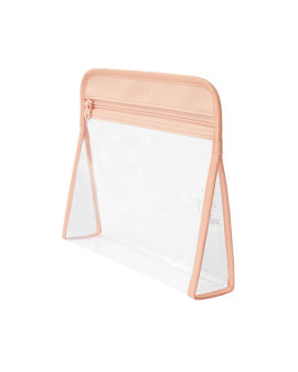 Clear Triangle Pouch #Pink