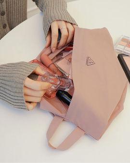 Airy Nylon Medium pouch #Indi Pink