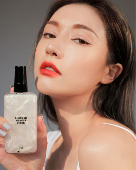 Shimmer Makeup Fixer