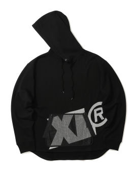 Mesh pocket hoodie
