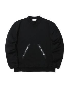Zip pocket sweatshirt