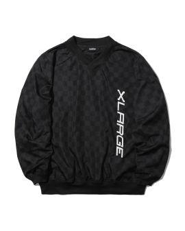 Checker printed pullover
