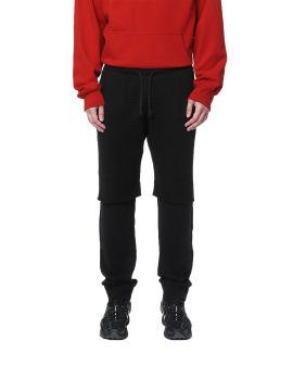 Double layered sweatpants