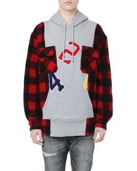 Reworked Flannel Hooded Workshirt