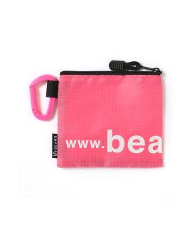 Logo zip-up pouch