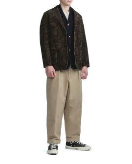Buttoned pocket jacket