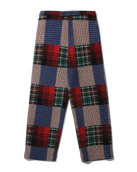 Patwork check pants