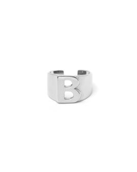 Letter ring and ear cuff