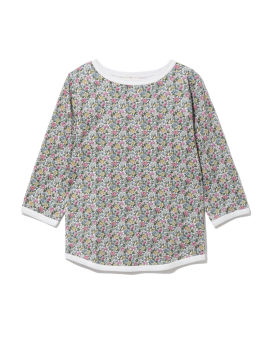 All-over printed top