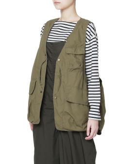 Flap pocket vest