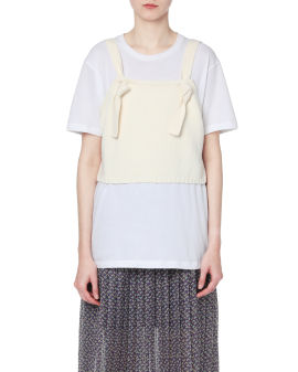 Cropped vest