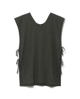 Lace-up vest