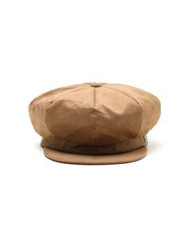 Label patch baker boy cap