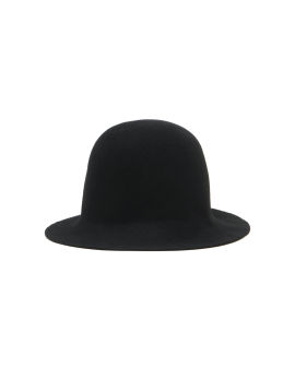 Belted cloche hat