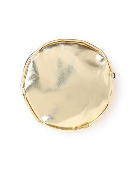 Metallic cat pouch