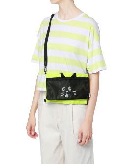 Two-tone Nya Cat shoulder bag