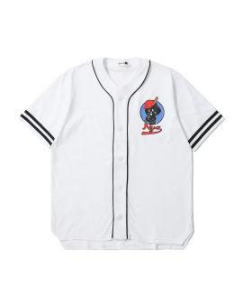 Nya Cat logo baseball shirt