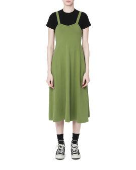 Cut-out back midi dress