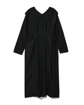 Pleat detail dress and petticoat set