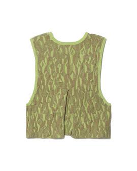 Jacquard vest