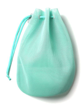 Drawcord large mesh pouch