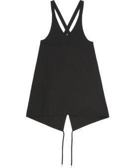 A-line overall dress