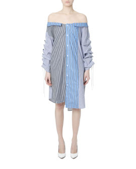 Split shirt dress