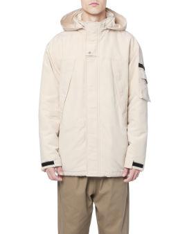 Over Human hooded jacket